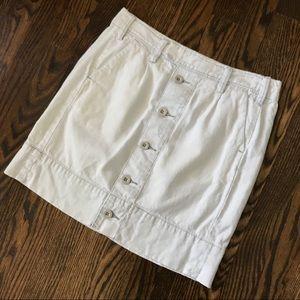 Paper Boy Anthropologie light blue mini skirt sz 0